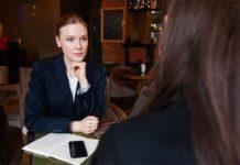 rozmowa w sprawie pracy