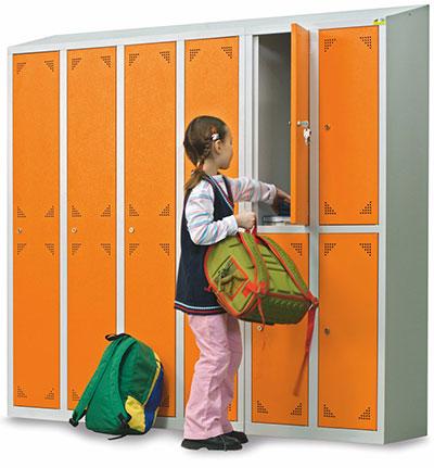 odpowiednie szafki szkolne do placówki