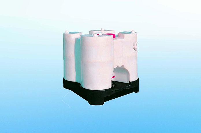 Zbiornik paliwowy dwupłaszczowy